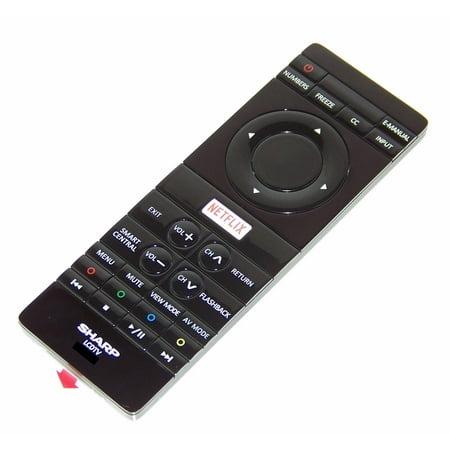OEM Sharp Remote Control Originally Shipped With: LC65UB30, LC-65UB30, LC65UB30U, LC-65UB30U