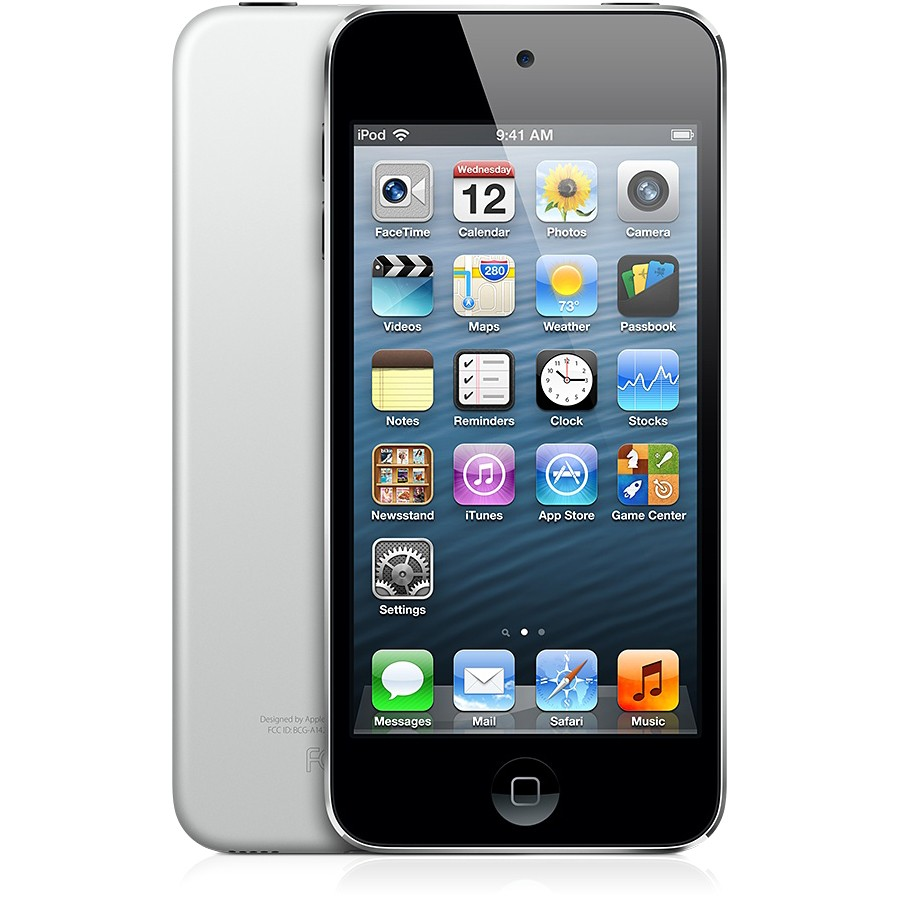 Apple Ipod Touch 16gb Black & Silver-spa