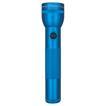 2D Cell Flashlight Blue