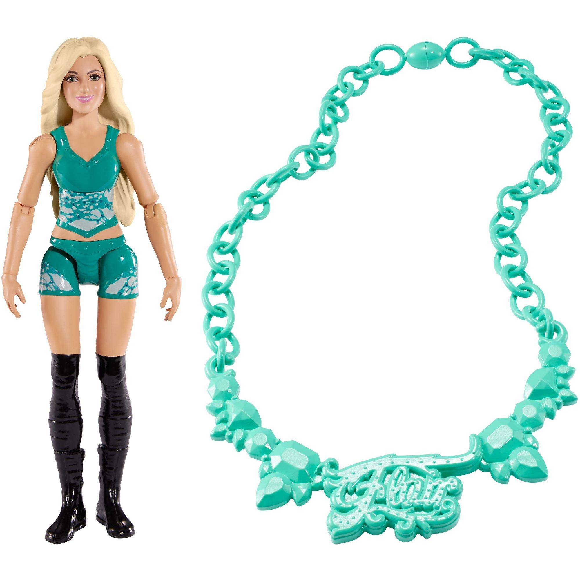 WWE Superstars Charlotte Flair Pack: 6-inch Action Figure & Fan Accessory