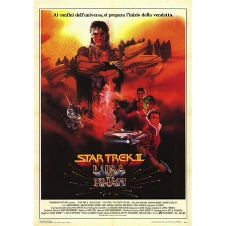 Star Trek 2 The Wrath of Khan Movie Poster (11 x 17) ()