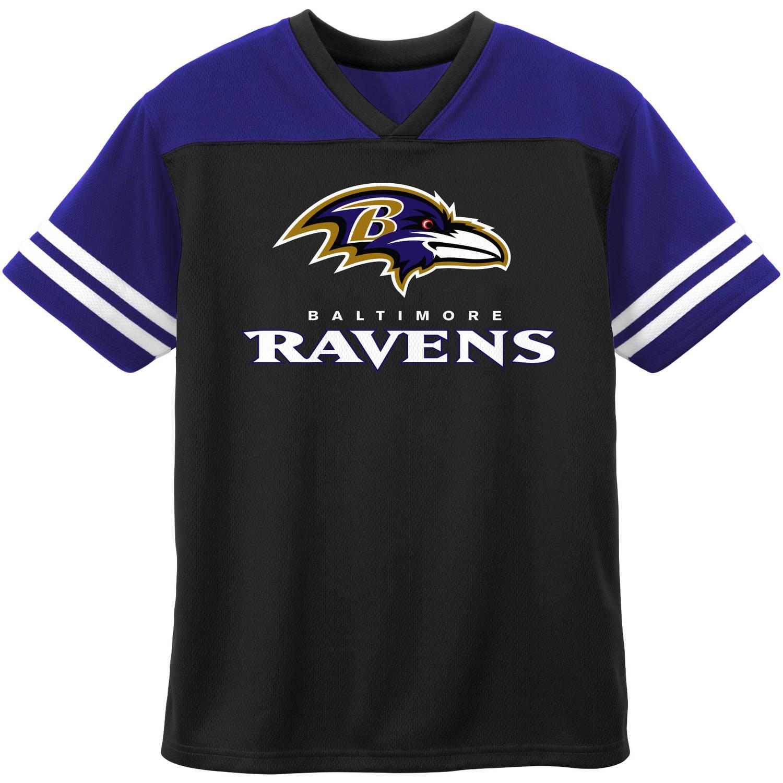 NFL Baltimore Ravens Toddler Short Sleeve Fashion Top
