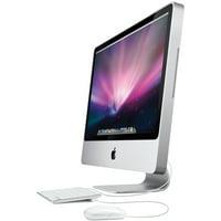 """Apple iMac Desktop Computer 20"""" Core 2 Duo 2.66GHz / 2GB / 320GB (MB417LL/A - 2009) OS X El Capitan (Refurbished)"""