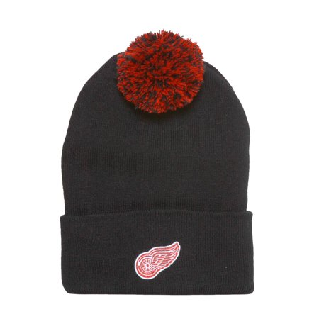 Detroit Red Wings Beanie with Pom - Black - image 1 de 1