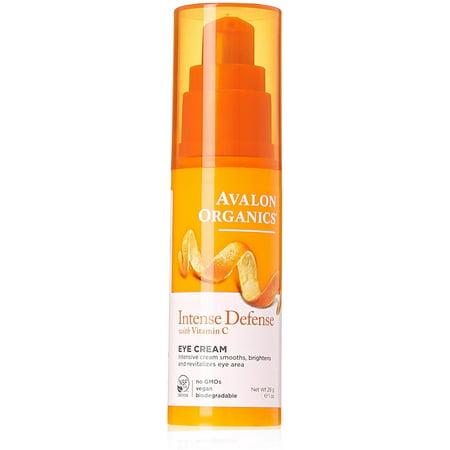Avalon Organics La vitamine C Renouvellement Revitalisant Crème Contour des Yeux 1 oz