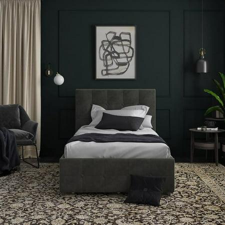 Winston Porter Houchins Upholstered Storage Platform Bed