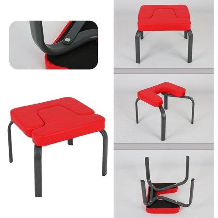 leking yoga aids workout chair headstand stool