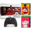 Xbox One S 1TB NBA 2K20 Bundle + FIFA 20 + Madden NFL 20 + Controller