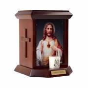 The Official Vatican Observatory Foundation Cremation Urn for Human Ashes - Sacred Heart I
