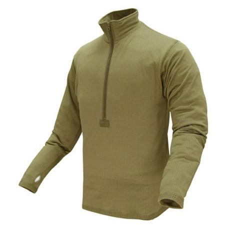 Outdoor Tan Base II Zip Up Pull Over Fleece -