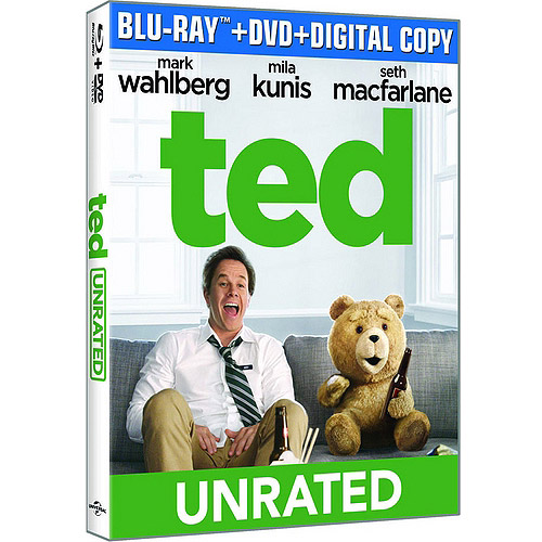 Ted (Blu-ray   DVD   Digital HD   Movie Cash) (Widescreen)