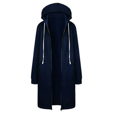 dcc8f2340ff EFINNY - EFINNY Plus Size Women Winter Casual Long Sleeve Thin ...