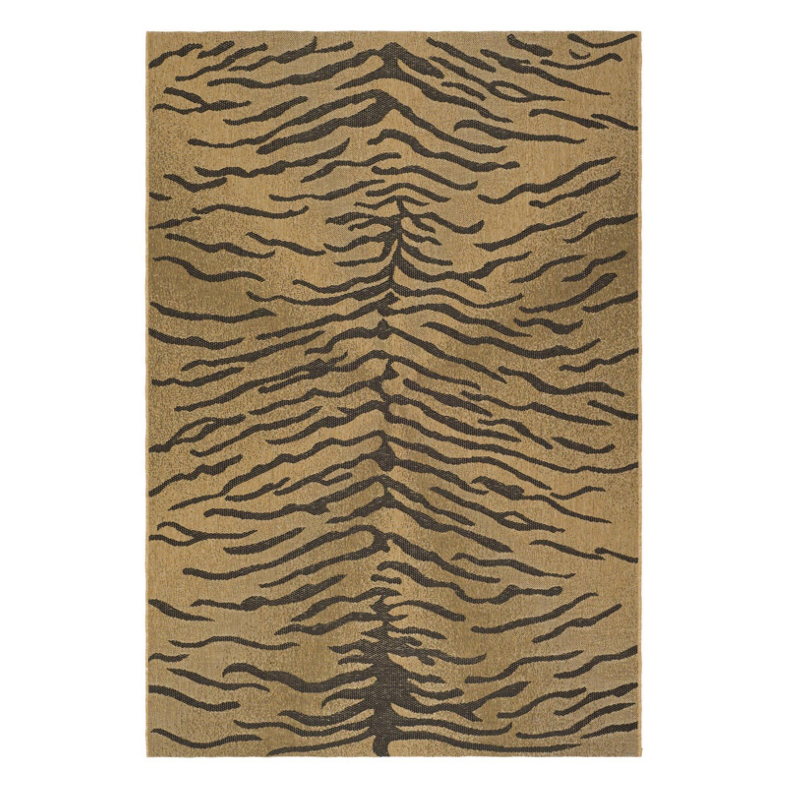 Safavieh Courtyard CY6953 Indoor/Outdoor Area Rug Gold/Natural