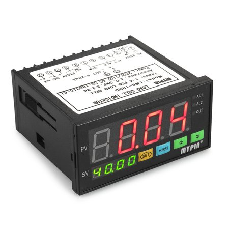 Digital LED Display Weighing Meter Load-cells Indicator 1-4 Load Cells Signals Input 2 Relay Alarm Output