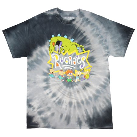 fb93d69f1be Hybrid - Nickelodeon Rugrats Shirt Reptar And Characters 90s Cartoon Logo  Tie Dye T-shirt - Walmart.com