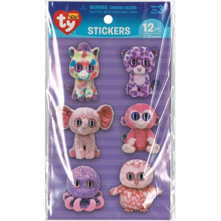 Darice BB0049S Ensemble d'autocollants Beanie Boos - Girly Eyes - image 1 de 1