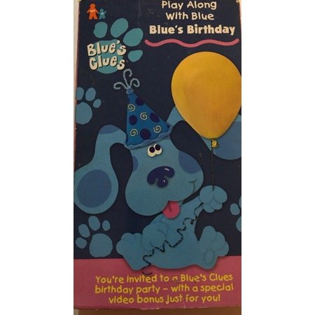 Blues Clues Play Along With Blue Blues Birthday Nickelodeon Nick