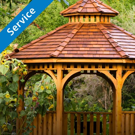 Gazebo Installation by Porch Home Services