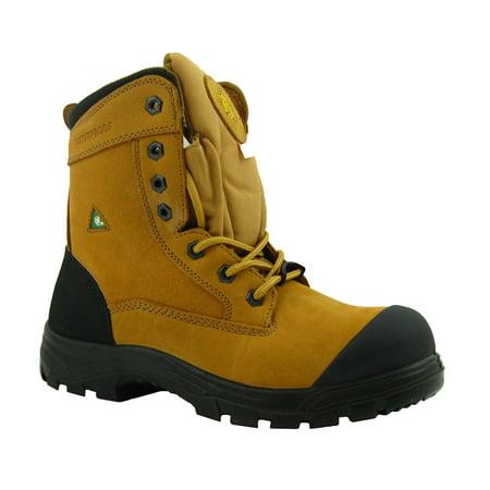 """f04dbbb41ec TIGER MEN'S 8"""" TALL LIGHTWEIGHT WATERPROOF CSA WORK SAFETY BOOTS - 7888    Walmart Canada"""