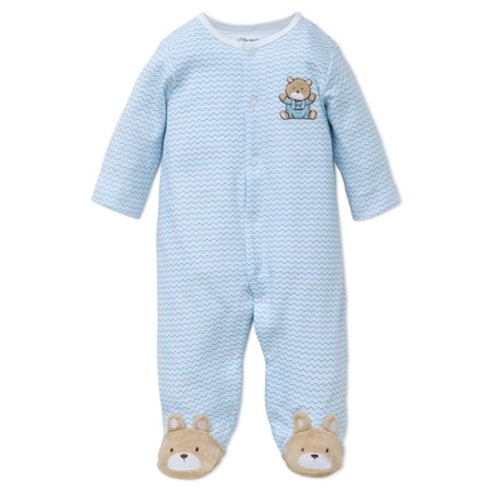 74948588cd06 Little Me - Little Me Boys 1 Piece Long Sleep Sleeper Full Zip or ...