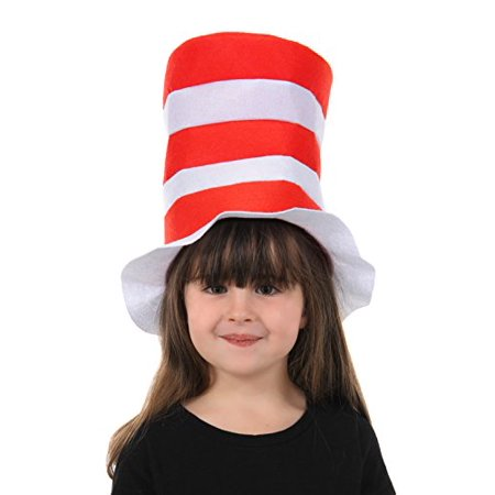 The Cat in The Hat Kids Felt Stovepipe - Cat In The Hat Hat