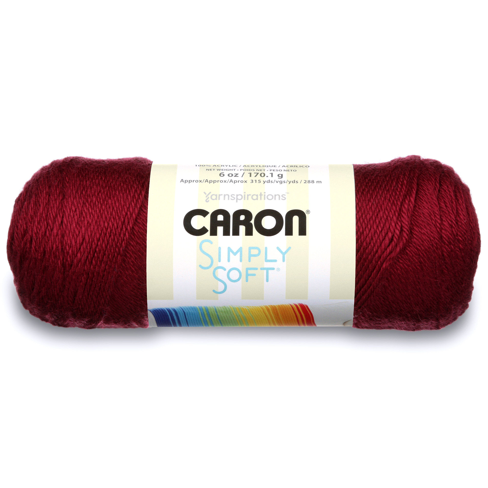 Caron Simply Soft Yarn, Lemonade