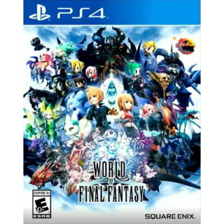World of Final Fantasy, Square Enix, PlayStation 4, 662248918747 (Final Fantasy 13 Halloween)