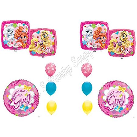 Disney Princess Birthday Party Decorations (Palace Pets Disney Princess BIRTHDAY PARTY Balloons Decorations)