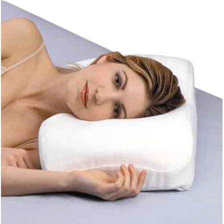 - SleepRight Splintek Side Sleeping Foam Memory Pillow SR243PRO 24