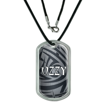 Male Names - Ozzy - Dog Tag