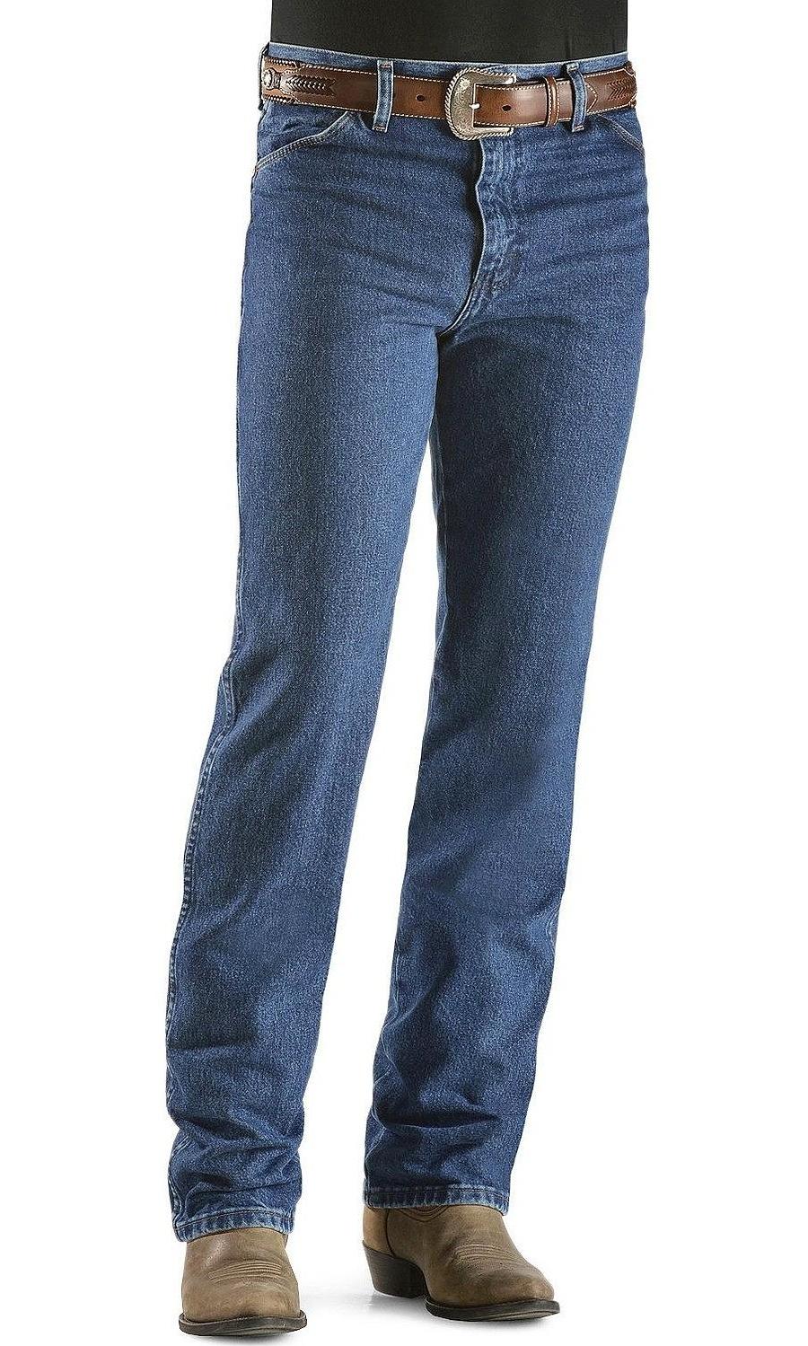 5b9c0405 Wrangler - wrangler men's cowboy cut slim fit jean,dark stone,40x34 ...