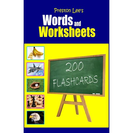 Preston Lee's Words and Worksheets: 200 FLASHCARDS - eBook](Halloween Color Word Worksheets)