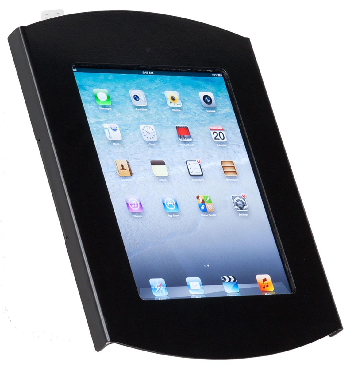 "Floor Standing 10/"" iPad Tablet 2//3//4 Air 1//2 Hidden Home Button Locking Enclose"
