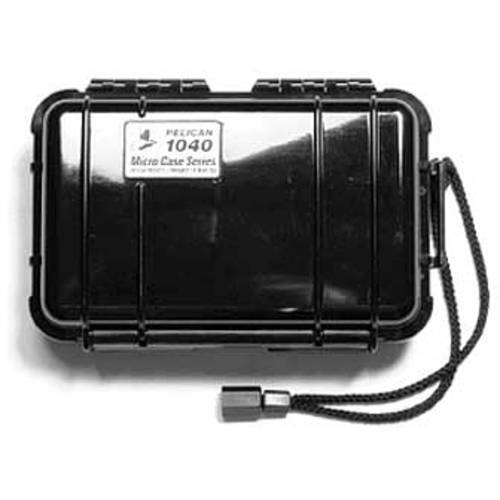"Pelican 1040 Protect Case, For iPod, 6.5"" x 3.9"" x 1.7"", Black"