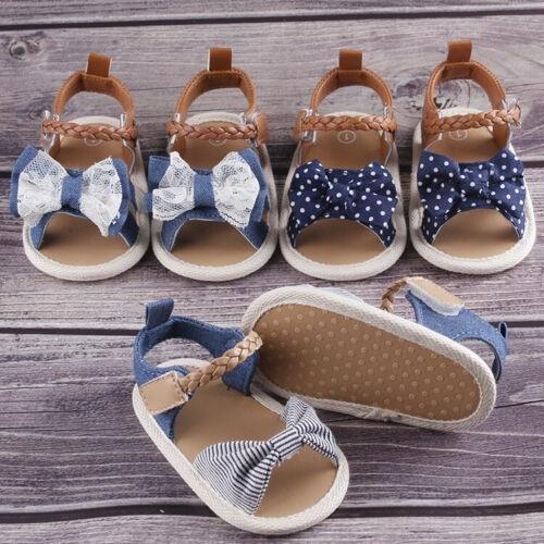Fashion Infant Baby Girl Soft Sole