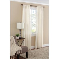 Deals on Mainstays Textured Solid Curtain Panel 38x84-inch