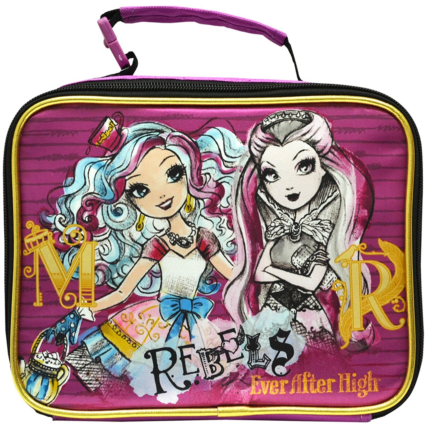 Mattel Ever After High Rebels Deluxe Ultra Cool Lunch Bag for Kids by Mattel
