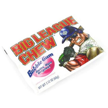 Big League Chew Bubble Gum - Big League Chew Flavors