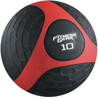 Fitness Gear 10 lb. Medicine Ball Red