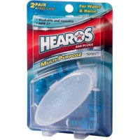 Hearos Multi-Purpose Series Ear Plugs 2 Pair + Free Case 1 ea