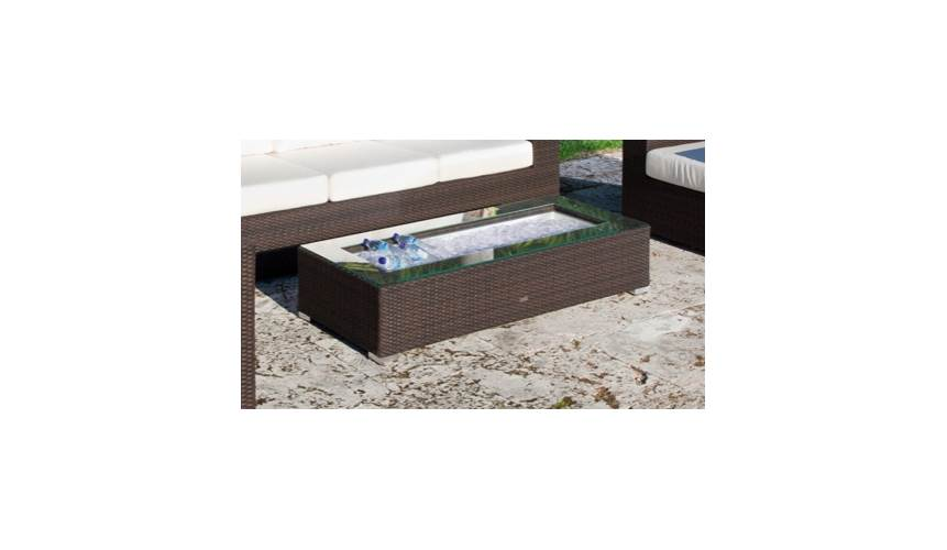 King Outdoor Ice Coffee Table by Source Outdoor