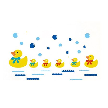Bedroom Ducks Pattern Self-adhesive Wall Sticker Decal Wallpaper 60 x - Donald Duck Halloween Wallpaper