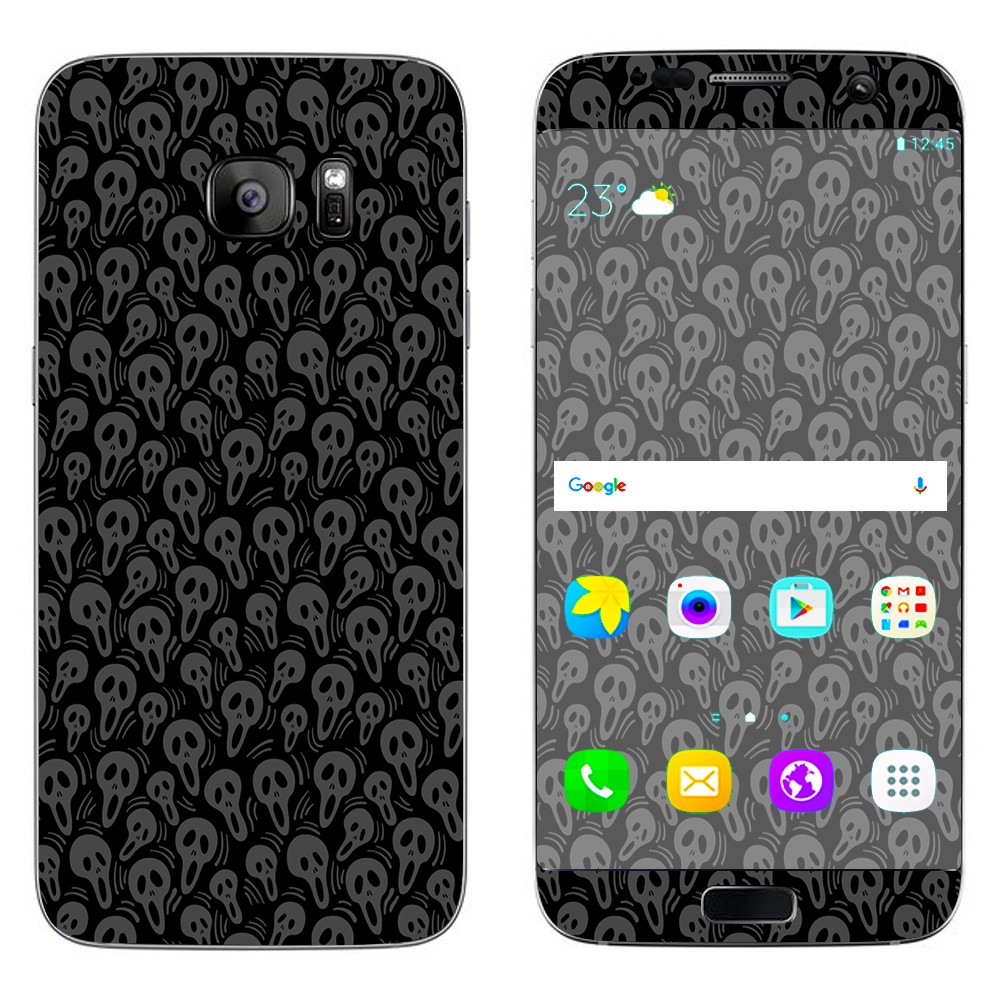 Skins Decals For Samsung Galaxy S7 Edge / Screaming Skulls