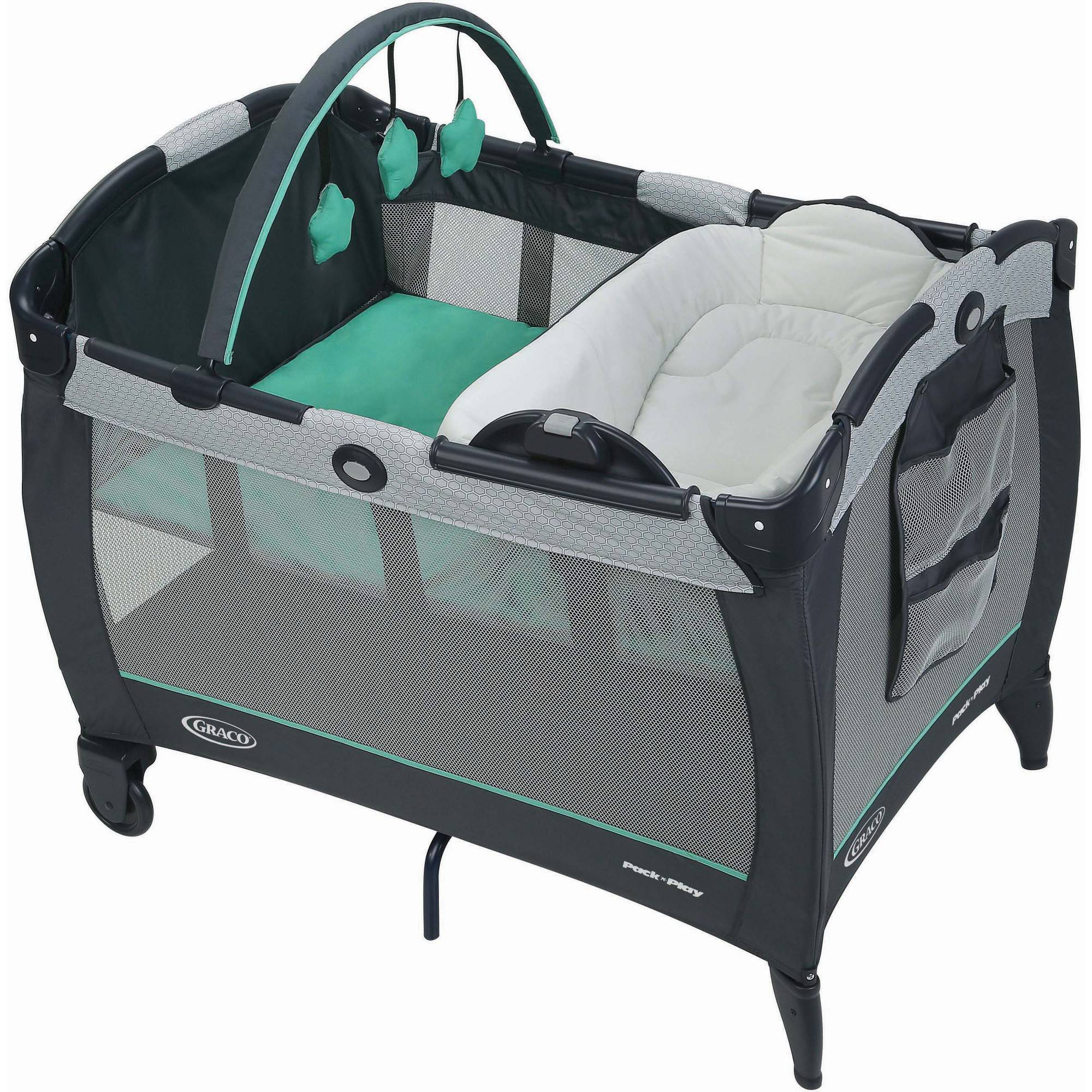 Graco Pack 'n Play Play Pen Reversible Napper and Changer, Basin by Graco