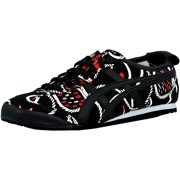 Onitsuka Tiger Men's Mexico 66 Black/Off-White Ankle-High Fashion Sneaker - 12.5M