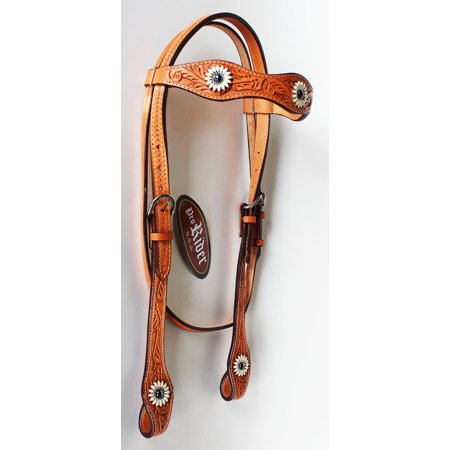 Equine Riding Horse Show Saddle Tack Rodeo Bridle Western Leather Headstall