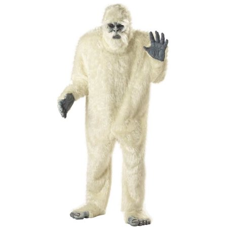 Abominable Snowman Men's Adult Halloween Costume, 1 Size