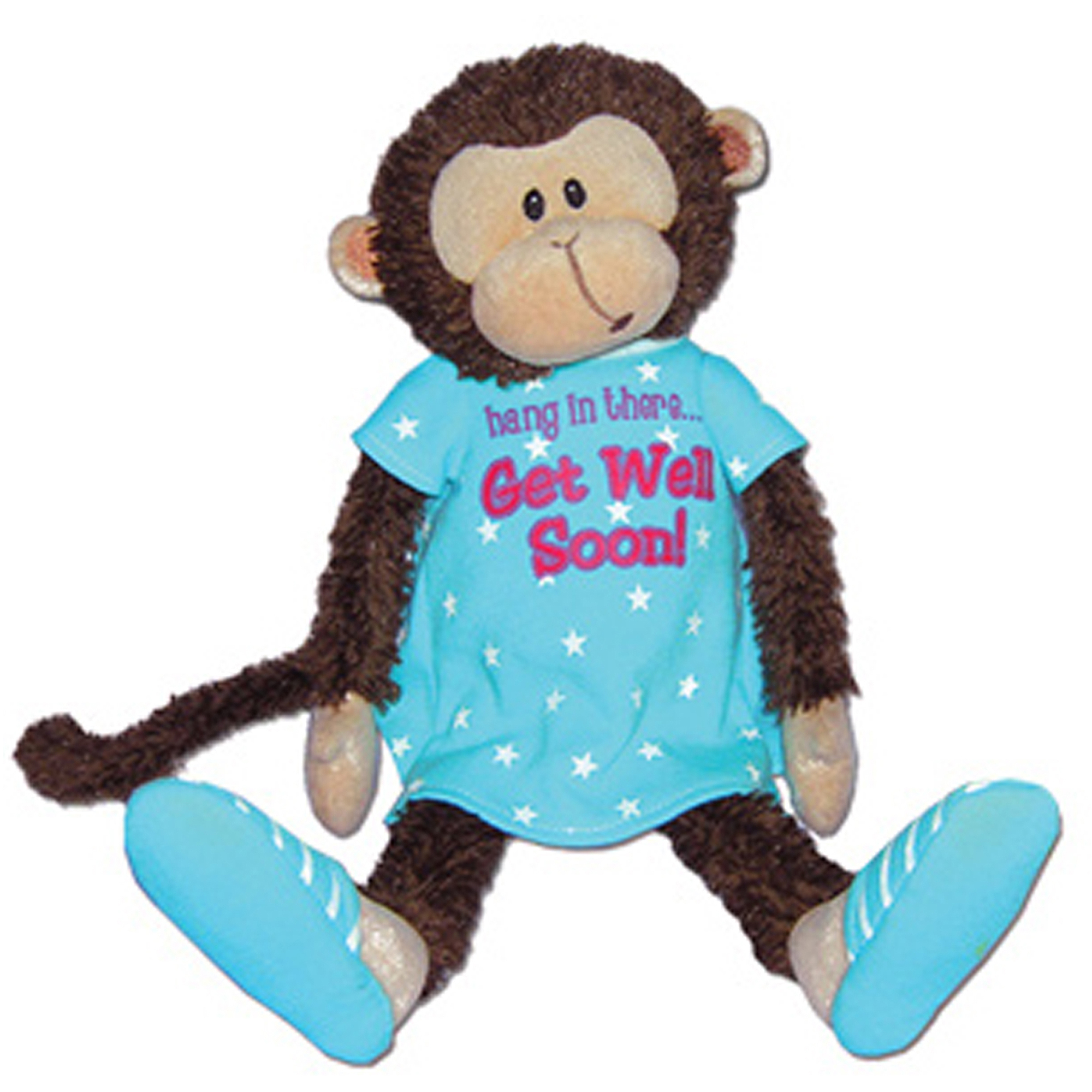 First and Main Inc. Mendin Monkey Plush