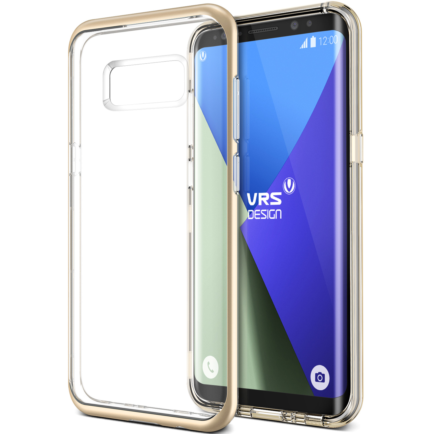 Samsung Galaxy S8 Case Cover | Clear TPU with Rugged Protection | VRS Design Crystal Bumper for Samsung Galaxy S8