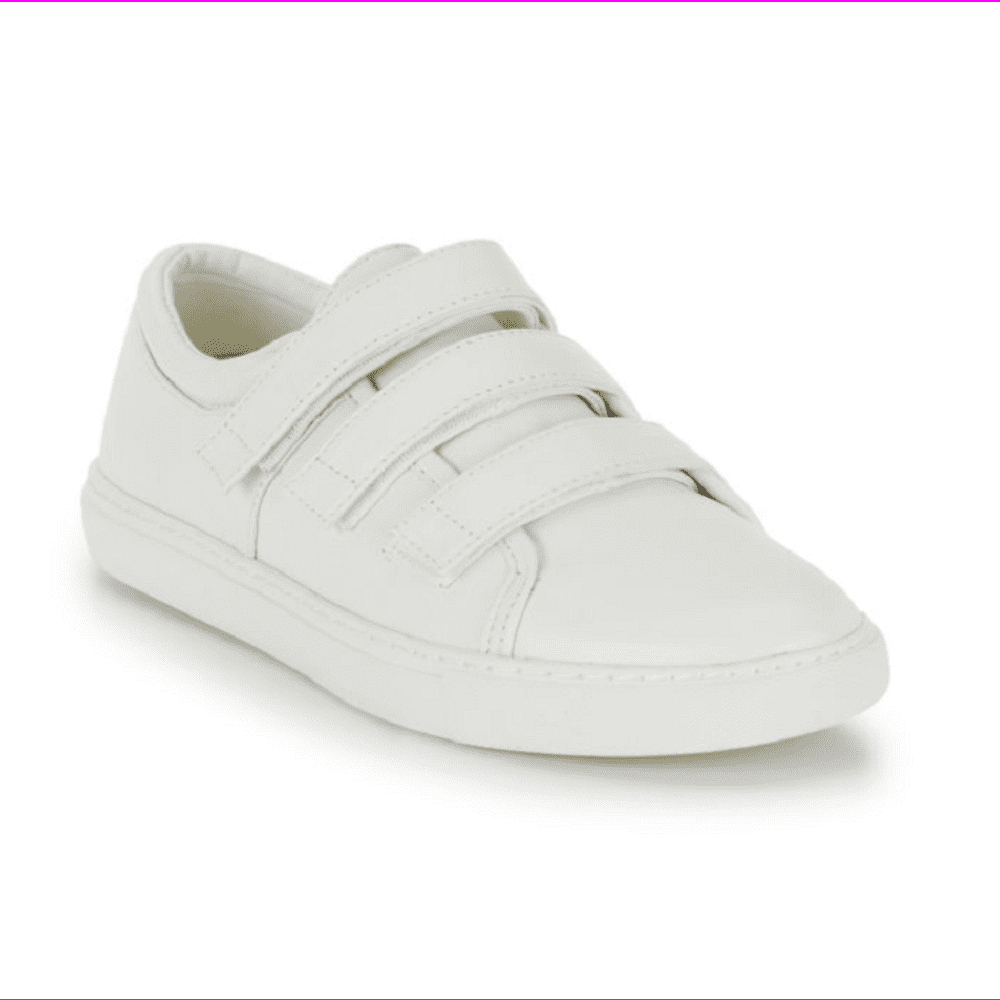 Kingfree Leather Sneakers, White